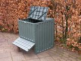 Compostbak, Eco-king, groen, 400 liter