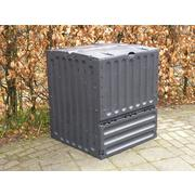 Compostbak, Eco-king, zwart, 600 liter